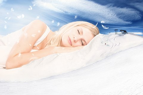 Schlafen direkt an der Piste